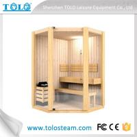 Quality Cedar Spa Sauna Electric Sauna Cabins Traditional For Weight Loss for sale