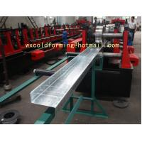 Quality C / Z Shape Automatic Changable Purlin Roll Forming Machine Hydraulic Punching Hole for sale