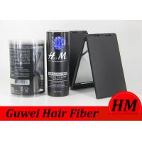 Quality Herbal Ingredient Full Hair in a Second Hair Growth Fiber , 25g Bottle Medium Broen Hair Fibers for sale