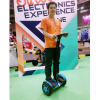 Quality Speed Control Urban Road Self Balancing Vehicle , Thinking Car Yellow for sale