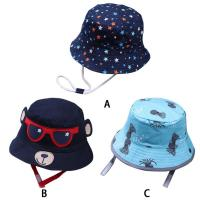 Quality ACE new brand custom private brand cotton with digital printed baby bucket hat cap upf 50+ for sale