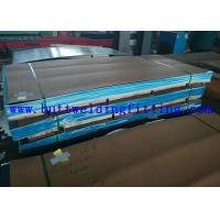 Quality ASTM A387 20 Feet Hot / Cold Rolled Stainless Steel Plate For Pressure Vessel Plate for sale