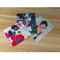 Quality Manufacturer Price 100LPI lenticular Plastic Cards Offset Printing 3D business Cards with strong lenticular effect for sale