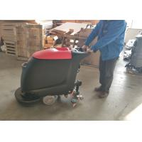 Buy cheap Portable Walk Behind Concrete Floor Scrubber With 45L Recovery Tank No Residue from wholesalers