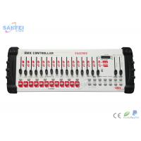 Buy 384 Chnnels DMX Lighting Controller LED Function And Program Display at wholesale prices
