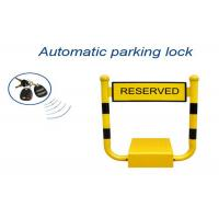 Quality U Shape Vehicle Parking Reservation Lock , Car Parking Space Barriers 433mhz Frenquency for sale