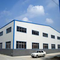 China Prefabricated Workshop Steel Structure Aluminium Window Rolling Door for sale