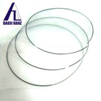 Quality Superelastic tini01 nitinol wire price for making portable antennas for sale