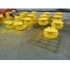 Buy cheap Marine Cast Iron Steel / Mild Steel Tee Head Mooring Bollard With Epoxy Primer from wholesalers