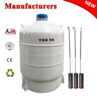 Quality Liquid nitrogen dewar tank 50 Liter cryogenic container gas cylinder 50L Price for sale