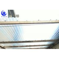 Quality Lightweight Transparent Corrugated Greenhouse Panels Weather Resistance for sale
