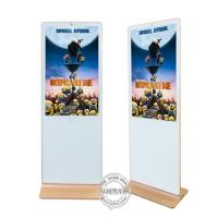 Quality Android Digital Signage LCD Advertising Media Player White Color Iphone Shape for sale