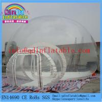 Quality Clear bubble tent for sale inflatable bubble camping tent for sale