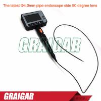 Buy cheap Latest electrical test instruments Φ4.0mm pipe endoscope side 90 degree lens from wholesalers