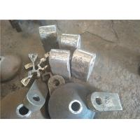 Quality High Manganese Steel Hammers for Clinker Crushers Hardness More Than 190HB for sale