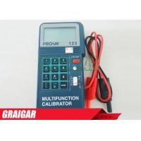 Quality PROVA-123 Electrical Instruments Process Calibrator Multi-function Corrector 0 - 24mA 2 - 50,000Hz for sale