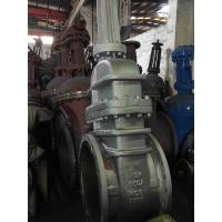 China GATE VALVE JIS10K WCB BODY, 13%CR / SEAT STELLITE TRIM, BB, OS&Y, FLANGE JIS10K, GEAR OP, SIZE 26 on sale