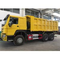 China Low Fuel Consumption Tipper Dump Truck For Mining Industry / Construction on sale