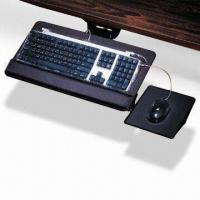 Quality Ergonomic Keyboard Tray with Mouse Pad and Tilting Adjustment, Drawer Design to Save Space for sale