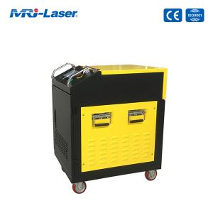 Quality Air Cooling 100W Fiber Laser Cleaning Machine For Rust Removal for sale