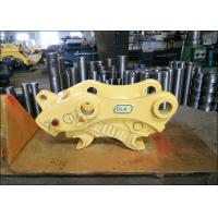 Quality Push Type Excavator Quick Coupler 380-420mm Pin Distance For Komatsu PC120 for sale