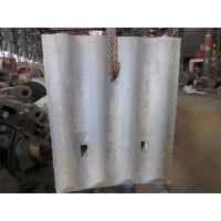 Quality High Cr White Iron Mill Liners D-12-D Coal Mill Hardness HRC58 - HRC61 After Shot Blasting for sale