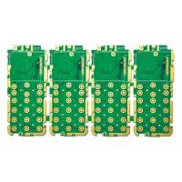 Quality Single Sided FR-4 rigid flex pcb 1.6mm thickness Green , Yellow Solder Mask for sale