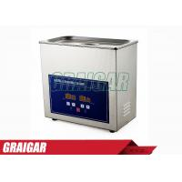Quality Optical Industry Desktop Ultrasonic Cleaning Machines Numerical Control for sale