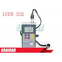 Quality Metal Shel Portable Ultrasonic Thickness Measurement , Resolution 0.01mm for sale