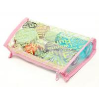 Quality Womens Folding PVC Cosmetic Bag Storage Case For Promotional Packaging for sale
