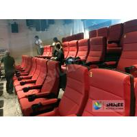 Quality Comfortable 4D Movie Theater Seats With Digital Sound System Low Noise for sale