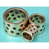 China Cast Bronze Bearings Strengthening Copper based With Solid Lubricant Plugs on sale