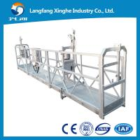 Buy electric suspended scaffolding / temporary gondola platform / mast climbing work platform at wholesale prices
