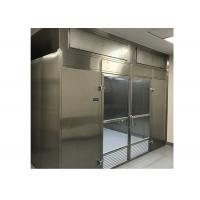 Quality Low Noise Laminar Flow Clean Room Booth With Energy Efficient High Air Volume Fan for sale