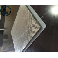China Heavy Duty Wedge Wire Screen Panels For Malt Kiln Flooring Raw Material on sale
