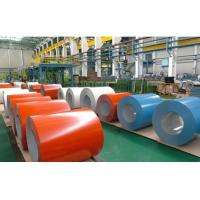 China Corrosion Resistant PPGI Steel Coil ASTM A755M 0.25mm - 0.8mm Thickness on sale