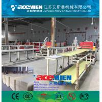 Quality WPC/PVC wood panel plastic profile production line making machine for sale