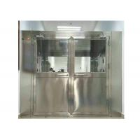 Quality High Efficiency Stainless Steel Air Shower Equipment For Pharmaceutical Industry for sale