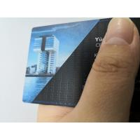 Buy Customized Stainless Steel Matte Black Metal Business Member Card With Color at wholesale prices