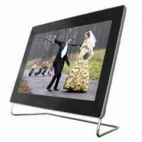 Quality 10.1-inch Digital Photo Frame with 1,024 x 600 Pixels Resolution for sale