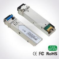 Quality 1.25Gb/s 40Km LC BiDi SFP Optical Transceiver Module With BX-D TX 1490 / RX 1310 for sale