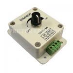 Quality 1 Channel 8 A Led DMX Controller Dimmer Switch 12V / 24V For Single Color LEDs for sale