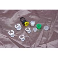 Quality Disposable Pigment Ring Cup / Tattoo Ink Cups For Permanent Makeup Tattoo for sale