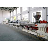 Quality PP Caco3 Twin Extruder Machine 500-600kg/H , Master Batch Manufacturing Machine for sale