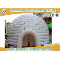 Quality Huge PVC Tarpaulin Inflatable Air Tent Globe Dome Tent For Party , Event for sale