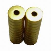 Quality Gold-plated Ring Magnets, Various Grades and Sizes are Available for sale