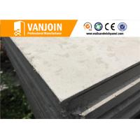 Quality Flat Prefab House Hotel Sandwich Panel Construction Materials Grey for sale