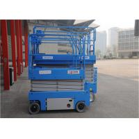 Customized Self Propelled Scissor Lift Widely Application 2100KG Weight for sale