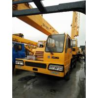 Quality 16t Lifting Capacity Used Service Trucks With Crane 230hp Power XCMG Brand for sale