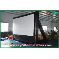 Quality 7mLx4mH Inflatable Movie Screen PVC Material WIth Frame For Projection for sale